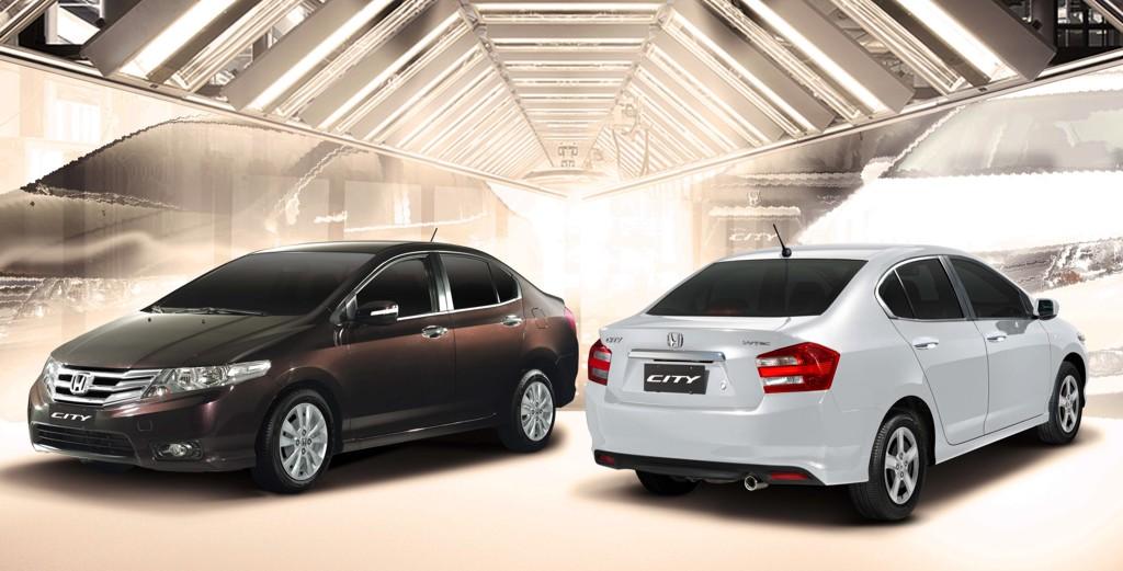 Honda Unveils 2012 City