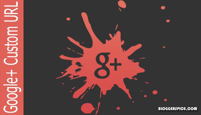 G+ custom URL