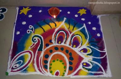 Tamil Festival Rangolis