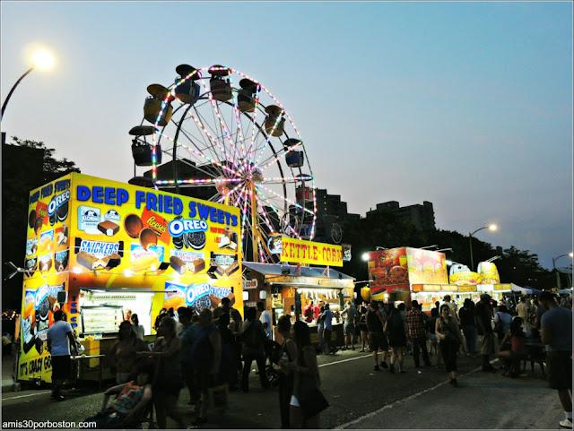 Food Trucks en el Festival Internacional de Esculturas de Arena de Revere Beach 2017
