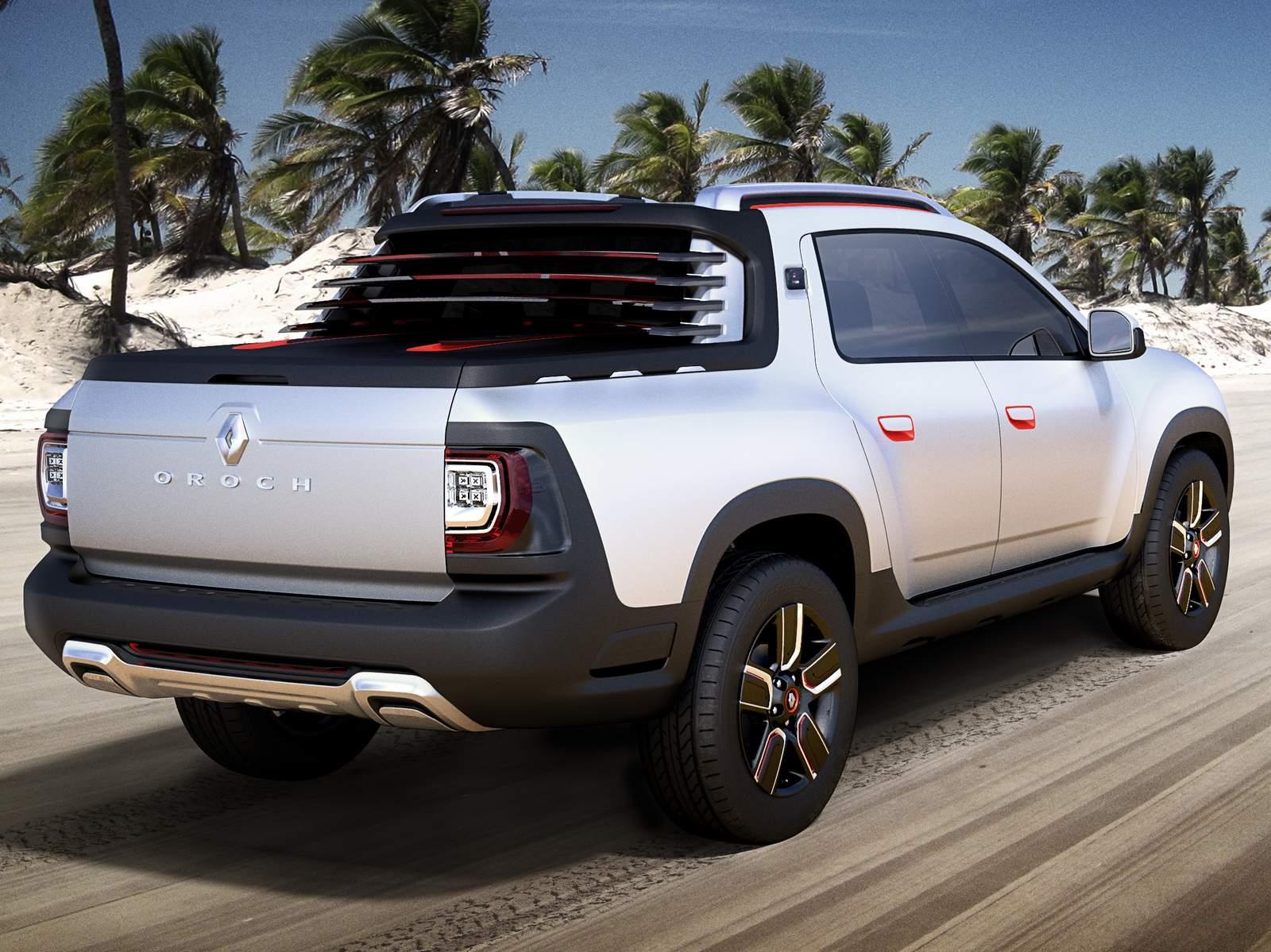 renault duster oroch pick up apresentada como conceito car blog br carros. Black Bedroom Furniture Sets. Home Design Ideas