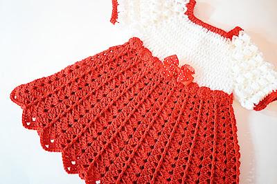 Imagen Vestido de fiesta de navidad en color rojo 1