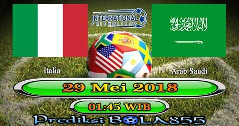 Prediksi Bola855 Italy vs Saudi Arabia 29 Mei 2018