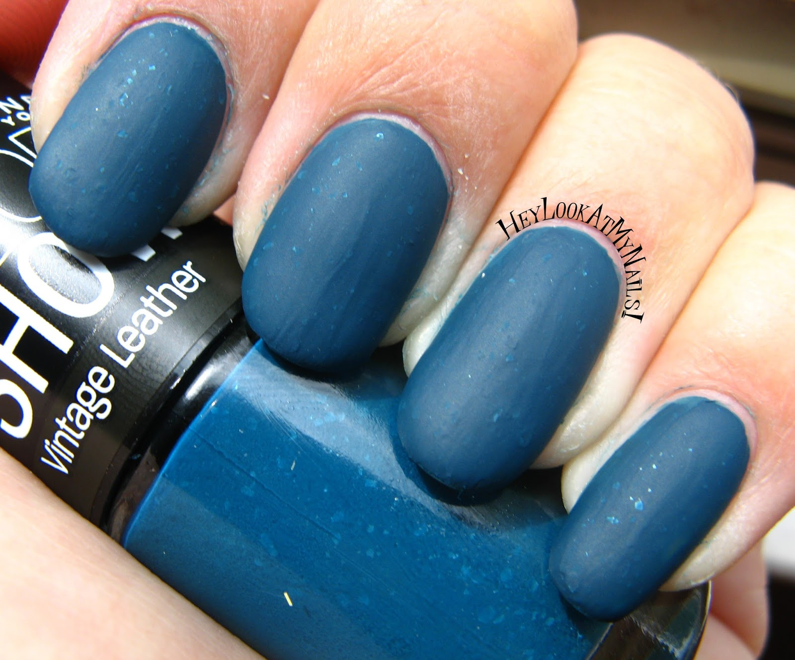 Maybelline Color Show Vintage Leather Nail Lacquer Antique Teal