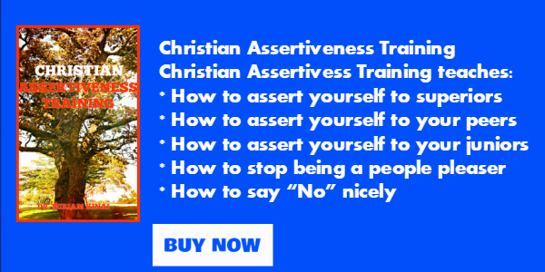 Christian Assertiveness Training PDF Ecourse