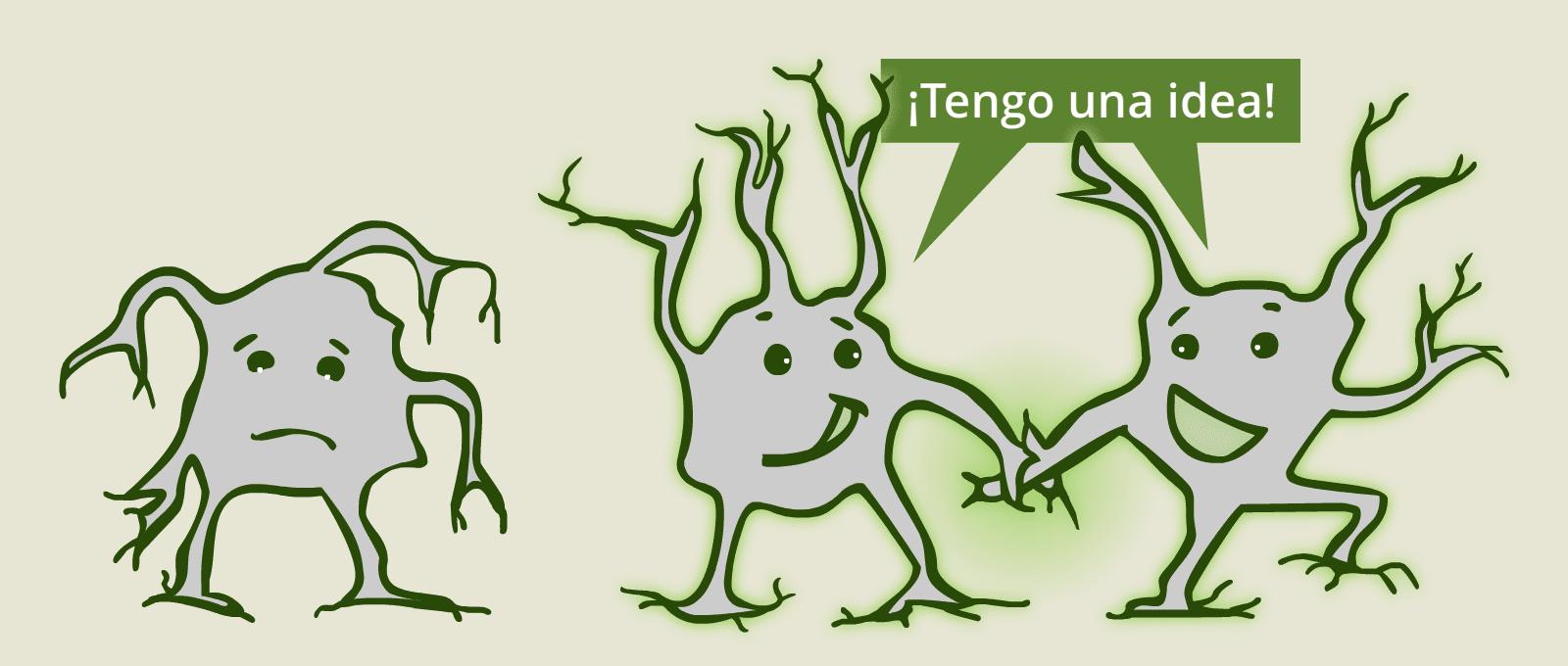 Neuronas abrazadas