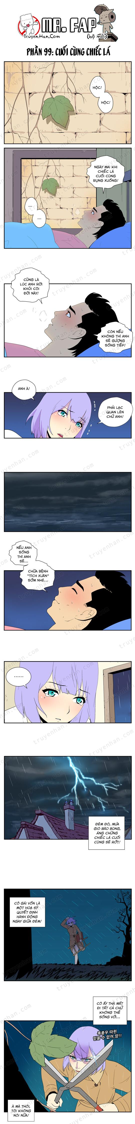 Mr. FAP (bộ mới) phần 99: Cuối cùng chiếc lá