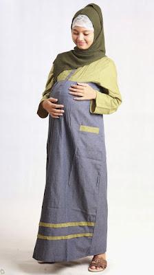 baju muslim ibu hamil terbaru