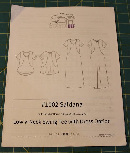 Diary of a Sewing Fanatic Saldana Dress from Sew Sew Def Magazine Mesmerizing Pattern Def