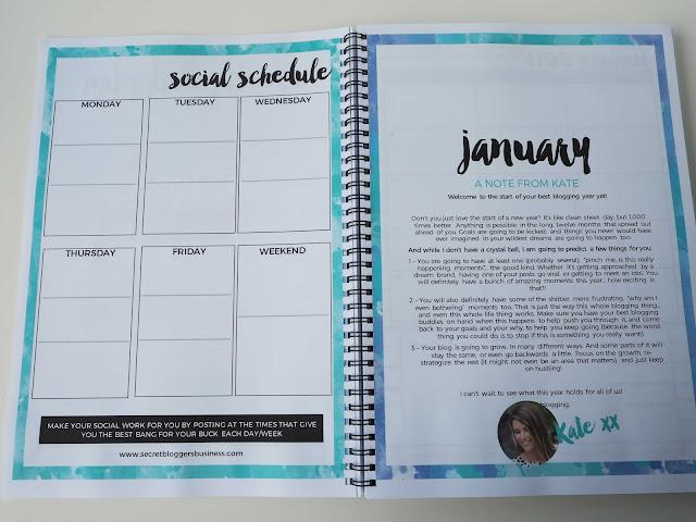 keep track of social media schedule