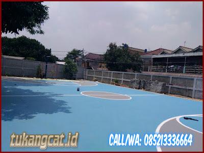 Cat Lapangan Basket Sekolah SMPN 164 Kebayoran 2