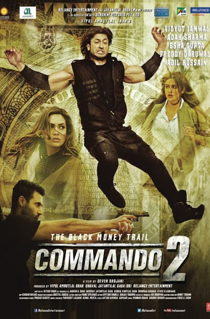 Commando 2 2017 Hindi pDVDRip 700mb