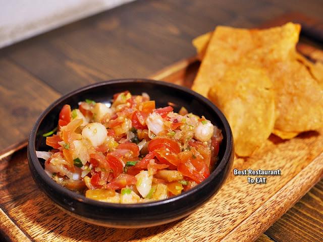 URBAN DAYBREAK BANGSAR Menu - Grilled Prawn Salsa