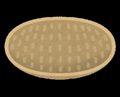 竹のザルのイラスト