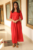 Actress Lavanya Tripathi Latest Pos in Red Dress at Radha Movie Success Meet .COM 0256.JPG