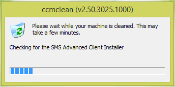 CCMClean - Uninstalling Configuration Manager Clients 2