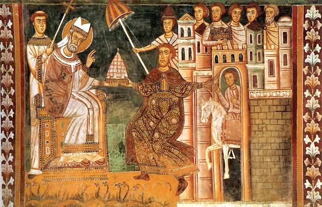 Constantino doa Roma aos Papas