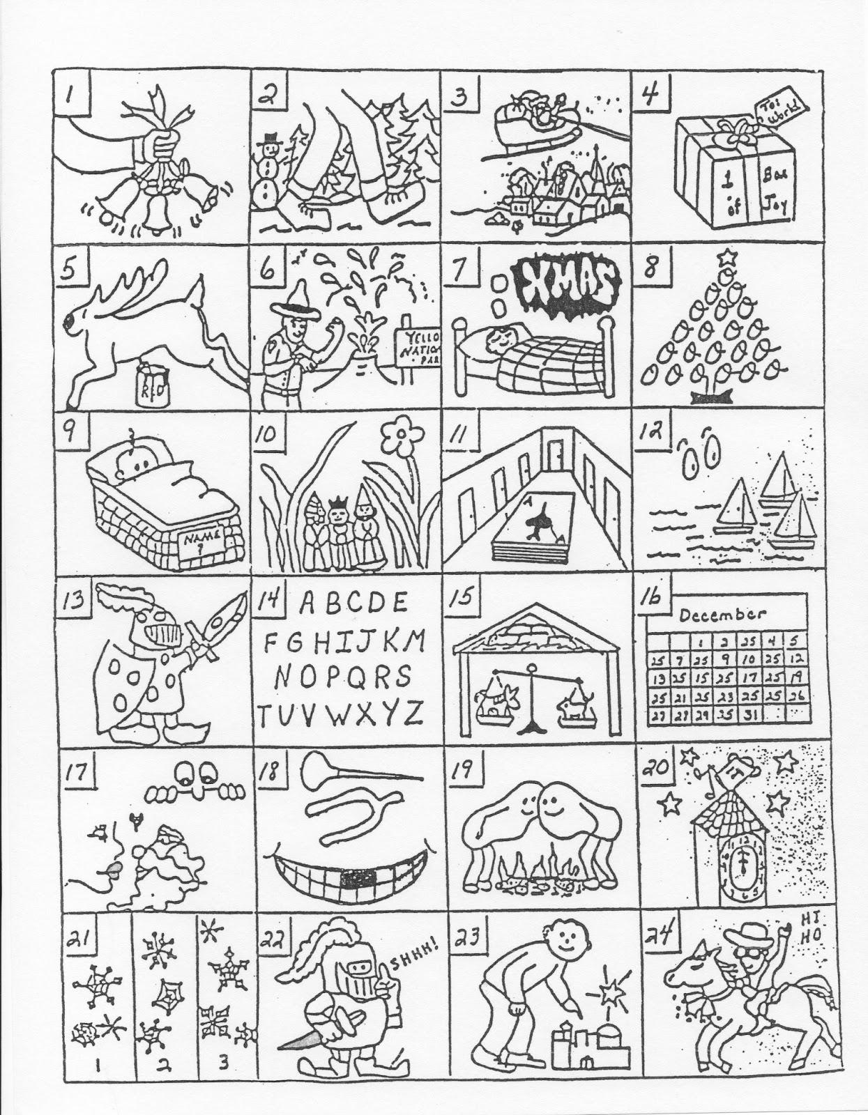 Mag Pad News Christmas Song Guessing Games