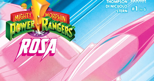 Mighty Morphin Power Rangers - Rosa