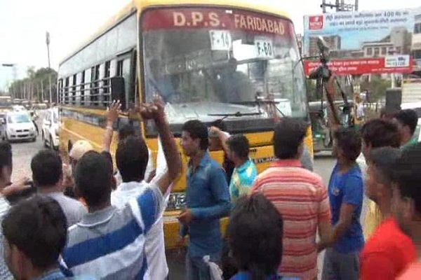 khedi-dukandar-murder-kand-faridabad-relatives-demanded-to-arrest