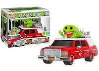 Pop! Rides: 2016 Ghostbusters Red Ecto-1 with Slimer