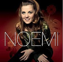 The cover of Noemi's debut EP, which sold more than 50,000 copies