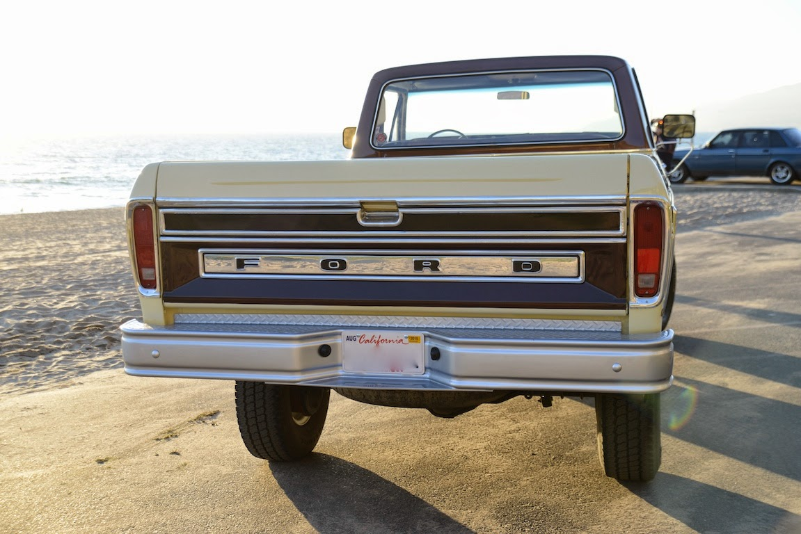 All American Classic Cars 1978 Ford F 250 Ranger Camper Special 1970 Pickup Truck