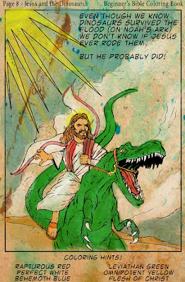 Friday Fun with Jesus, dinosaurs and Methodists