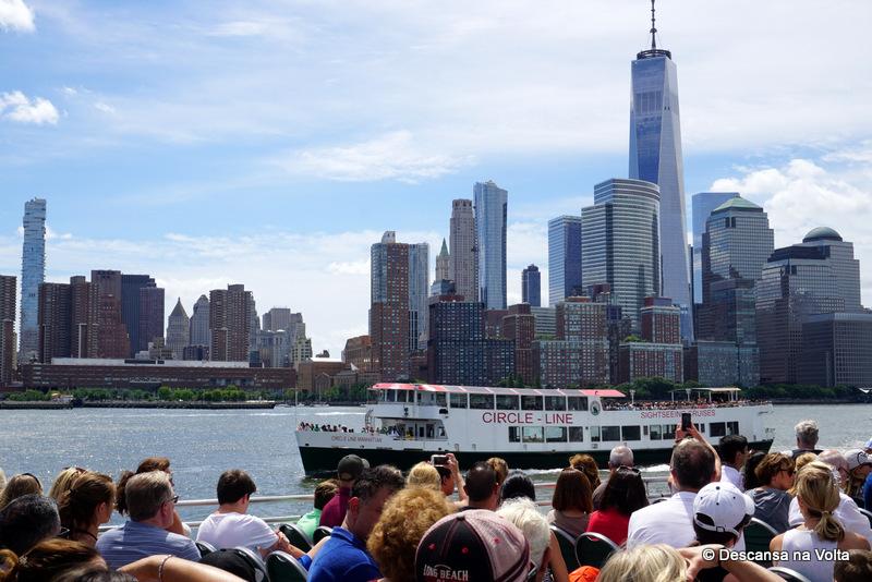 Passeio de Barco Circle Line Landmarks Cruise NY