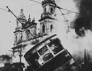 catedral primada en el Bogotazo