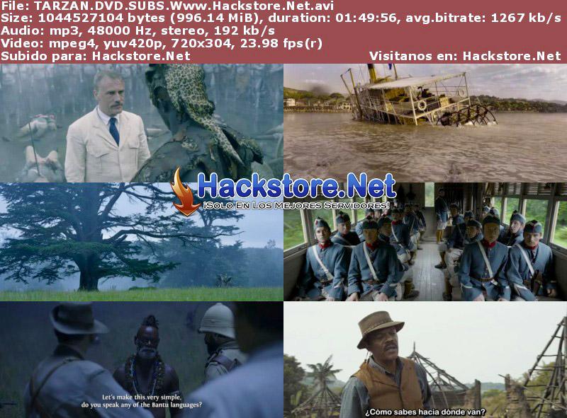 Capturas de La Leyenda de Tarzán (2016) DVDRip Subtitulada