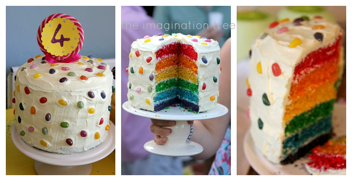 How To Make Tree For Cake