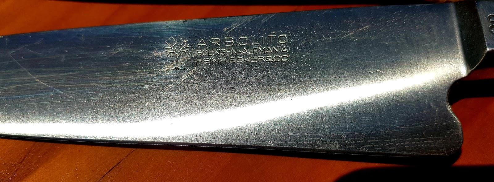 Knife Arbolito type criollo
