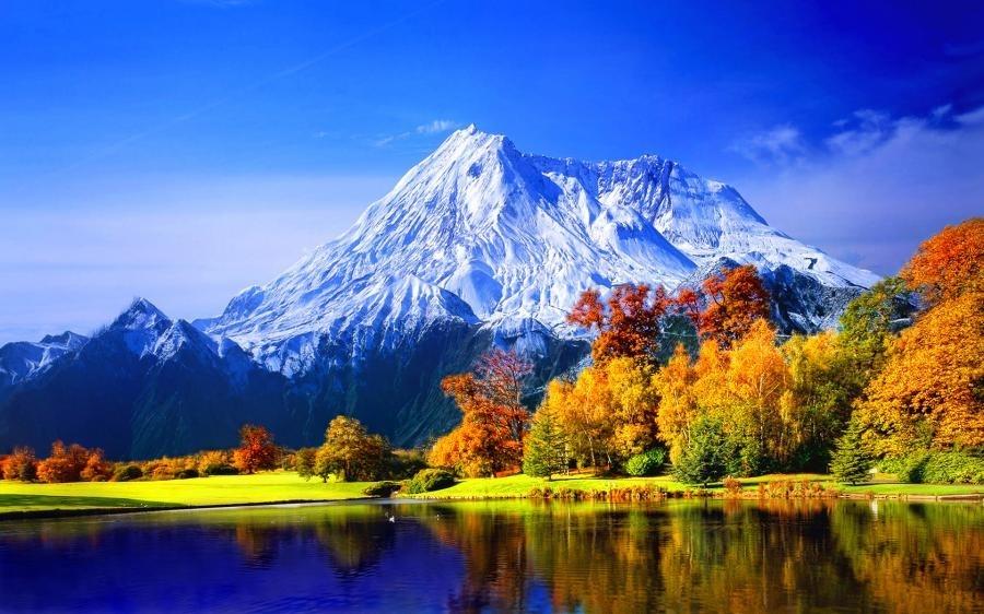 handan s detox journey mountains fall autumn nature lake sky winter