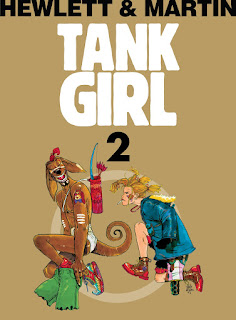 Tank Girl tom 2 okładka
