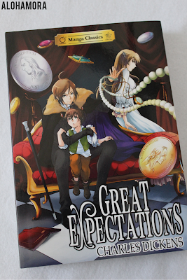 Great Expectations by Charles Dickens a Manga Classics version of the classic story.  It's a great adaptation that read a lot faster than the original.  4 out of 5 stars in my book review found on the blog.  YA Lit, Manga, graphic novel, fast read, fun, reluctant readers. Alohamora Open a Book www.alohamoraopenabook.blogspot.com