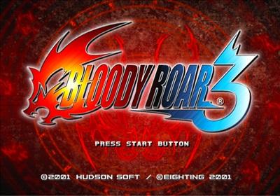 Bloody Roar 3 Ps2 iso