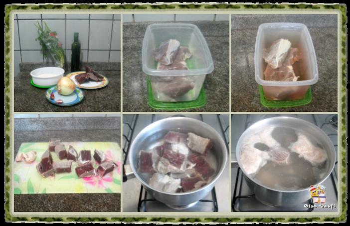 Paçoca de carne seca 4