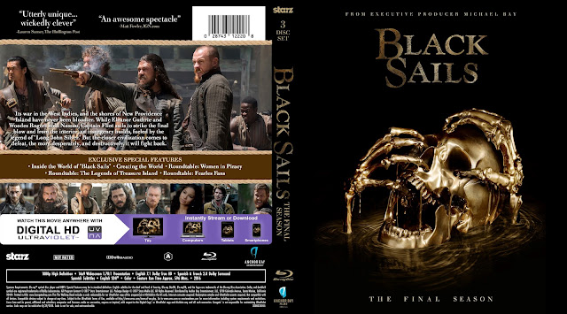 Black Sails Season 4 Bluray Cover