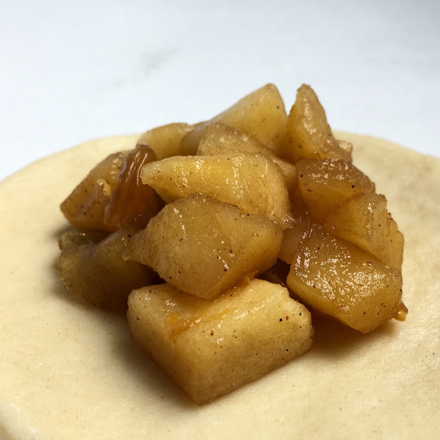 Unsealed Bourbon Apple Raisin Pierogi