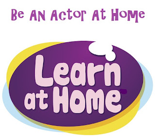 How to be an actor learning at home