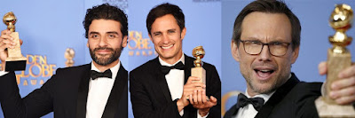 Oscar Isaac, Gael García Bernal y Christian Slater