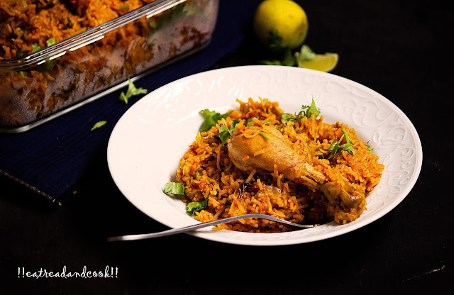 how to cook Mughlai Chicken Pulao recipe with step by step pictures
