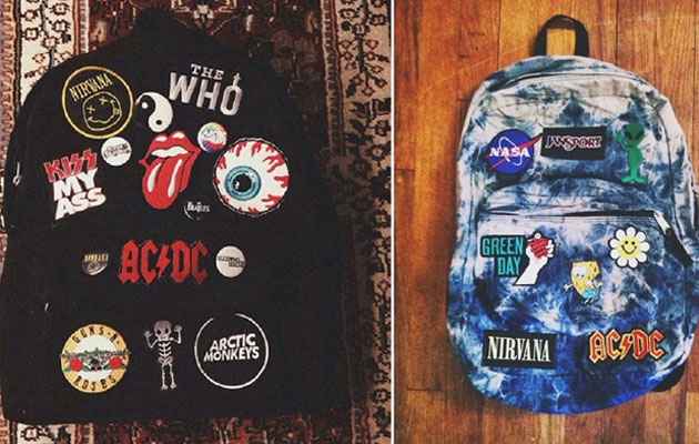 Mochilas Escolares com Patches
