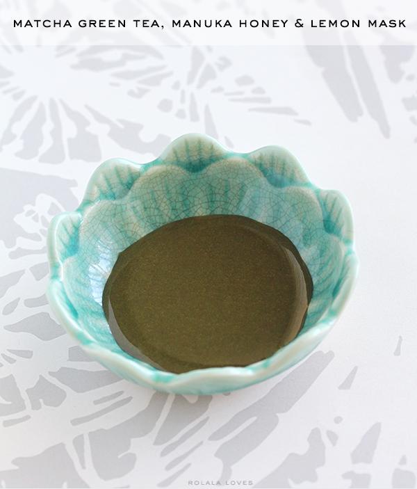 Matcha Green Tea for Beauty, Natural Face Mask, DIY Face Mask Green Tea Face Mask