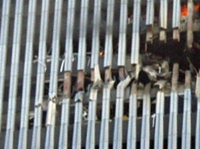 WTC2 Wing-tip damage