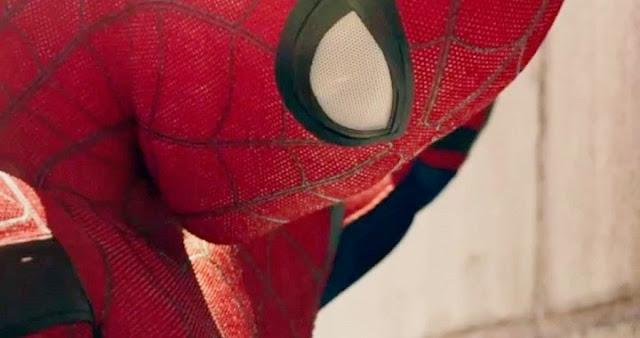 Tom Holland en el tráiler de Spider-Man Homecoming