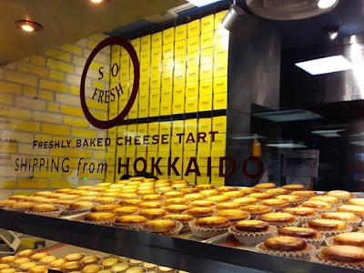 10D9N Spring Japan Trip: Hokkaido Bake Cheese Tart, Shinjuku Station