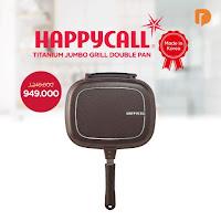 Dusdusan Happycall Titanium Jumbo Grill Double Pan ANDHIMIND