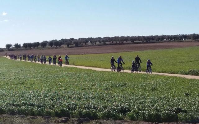 Ruta ciclista por illescas-Imagen COMUNICACION ILLESCAS